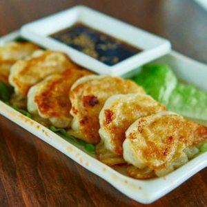 Crispy Chicken Gyoza Dumplings