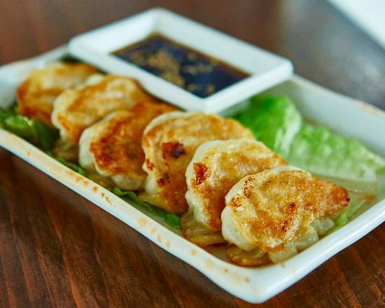 Crispy Chicken Gyoza Dumplings