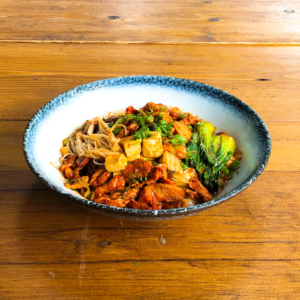 Spicy Pork Kimchi Don