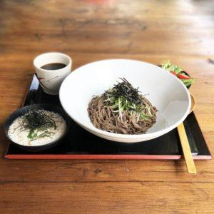 Lunch – Hot Tororo Soba