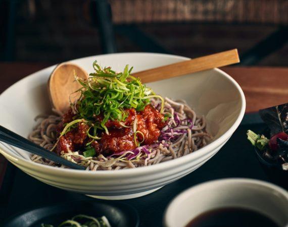 Chicken Nanban Cold Soba