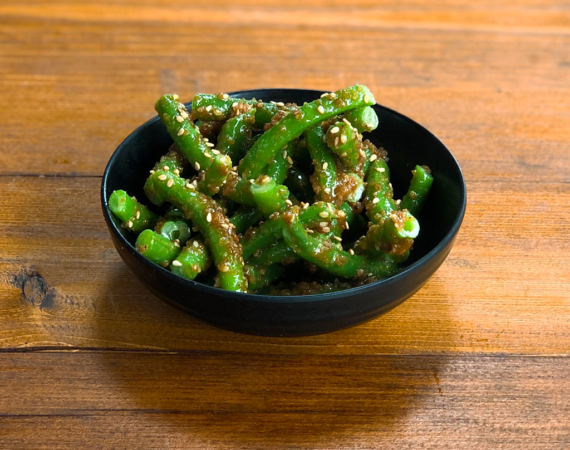 Sweet Sesame Green Beans